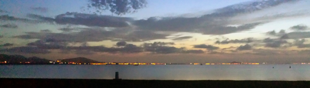 Abend am Mar Menor G